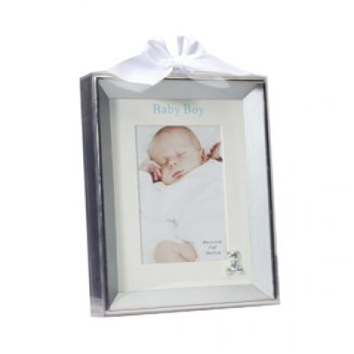 Silverplated frame-boy