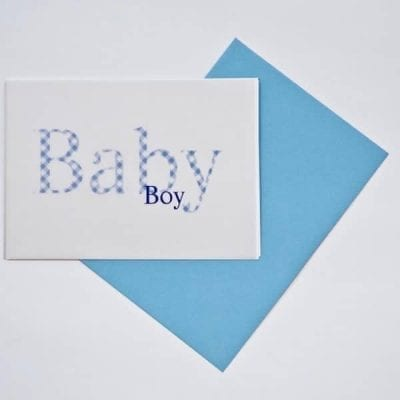 BABY BOY VICHY
