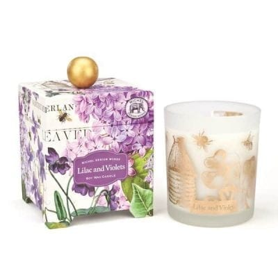 Lilac and Violets Candle-L