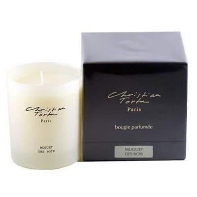 christian tortu lily of the valley candle 190g le rouge fleuriste